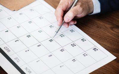Календар за организација во учебната 2018/19